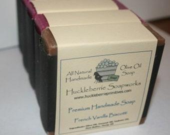 French Vanilla Biscotti Olive Oil Shea  Butter Soap