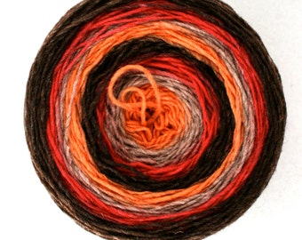 Rifton Spun to Stripe 600yds/549m ~6.5oz/184g USA wool Autumn