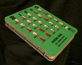 Bingo King Pla-Mor Bingo Book (Large Green/Colored Paper)