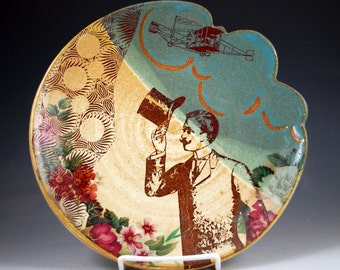 Tip o' the Hat Wall Platter