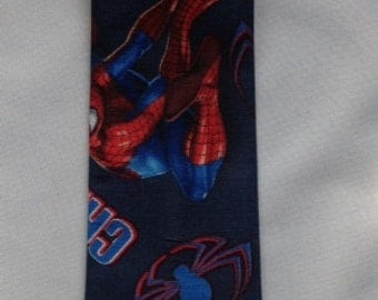 Spiderman Necktie Little Boys, Cartoon Superhero