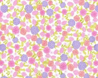 Spring Fling Collection from Michael Miller, Fleur in Lavendar, Yard