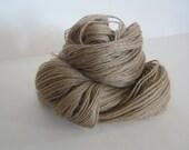 NATURAL Dyed - Walnut -  100% Pygora sports weight yarn