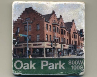 Oak Park Illinois - Original Coaster