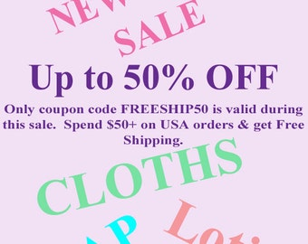 Soap Sale - Up to 50% Off - Free USA Shipping on orders 50 dollars or more - SOAP SALE - Lotion Sale - Cloth Sale