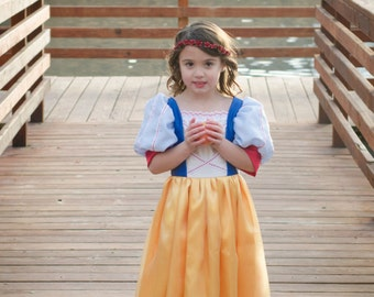 Cute Snow White Costume Gown