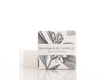 Bourbon & Vanilla Shea Butter Soap