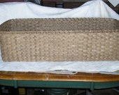 "Rectangular Basket 30"" x 8"" x 10"""