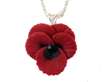 Pansy Necklace - Pansy Jewelry