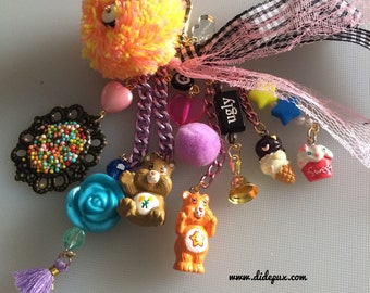 CARE BEARS BAGCHARM or keychain