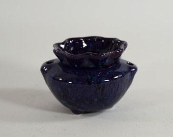 Miniature African Violet Pot Regency Plum