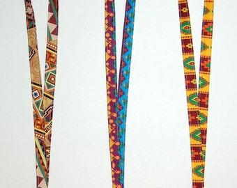 Southwest Aztec Lanyard (Ready To Ship)