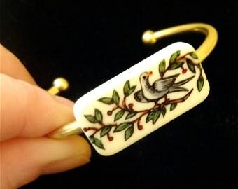 Custom Domino Cuff Bracelet