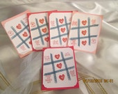 Buy 4 Get 1 Free Tic Tac Toe Valentine Cards