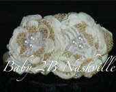 Rustic Wedding Hair Acces...