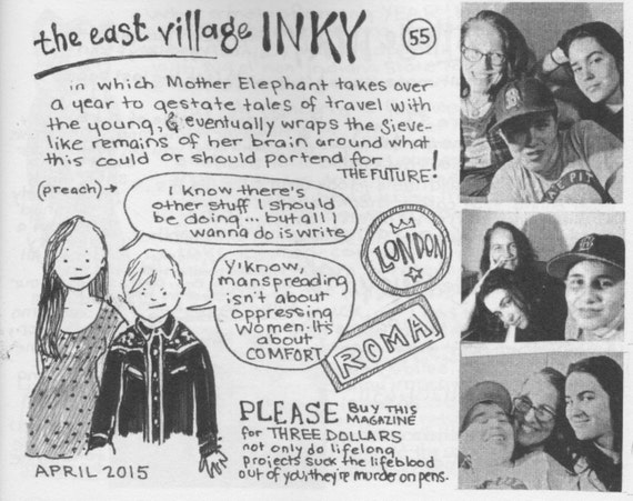 East Village Inky, Issue No. 55