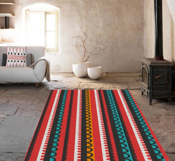 Tapis d coratif tapis scandinave tapis contemporain tapis for Tapis decoratif pour salon