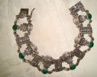 Inca Tribal Bracelet Sterling