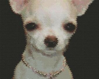 Little Chihuahua Bead Pattern (Larger)