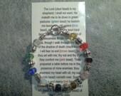Psalms 23 bracelet.