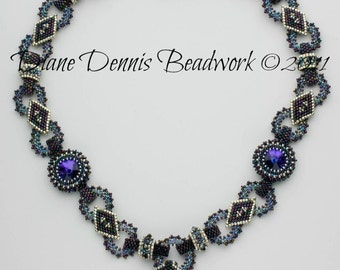 Digital instructions for BeJeweled Necklace Instructions