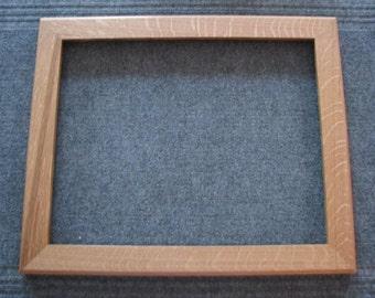 16 X 20 Quartersawn White Oak Picture Frame