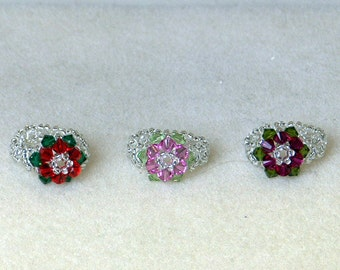Ring Beading Kit with DVD - Simple Flower Ring