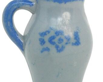 Vintage Little Milk Pitchers miniature milk pitchers dollhouse diorama craft vintage milk pitchers - IV3-2441