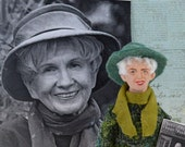 Alice Munro Author and Writer Art Doll Miniature