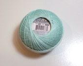 Green Tatting Thread, Lizbeth Crochet Thread, Light Seagreen Color Number 686, Choose a Size 10, 20, 40, 80