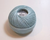 Blue Green Tatting Thread, Lizbeth Cotton Crochet Thread Light Country Turquoise Color, number 660, Choose a Size 10, 20, 40, 80