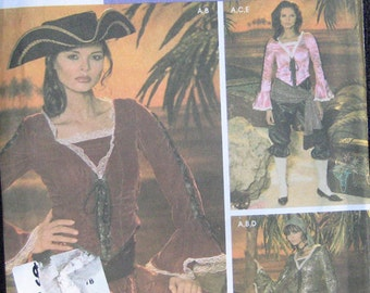 Simplicity Costume Womens Pirate Pattern 4914