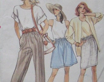 Very Easy Very Vogue Skirt Shorts Pants Pattern 7162