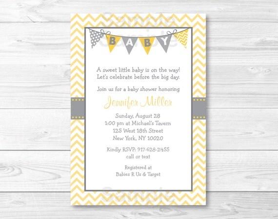 cute chevron baby shower invitation chevron baby shower invite