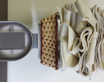 WOOL SCRAP Fabric Two Pounds For Crafts