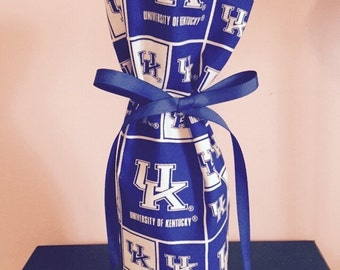 Kentucky bottle bag bottle cozy gift wrap