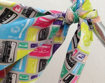 Mix Tape Baby Blanket Swaddler Light: Receiving Blanket, Swaddling Blanket
