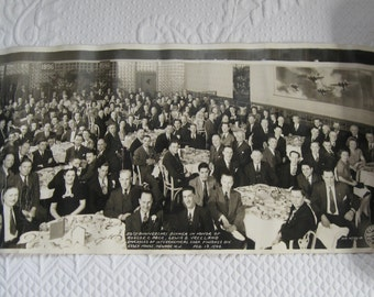 Company Panorama Photo . Interchemical corp finishes Division Photo 1946 . panorama company photo