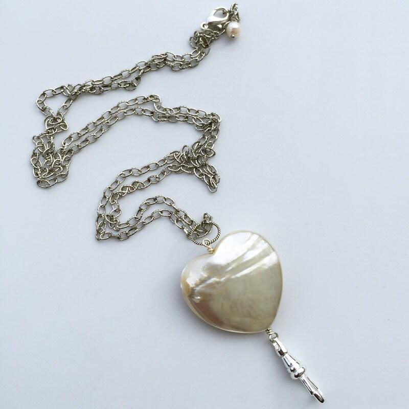 lanyard necklace mop silver chain id badge lanyard