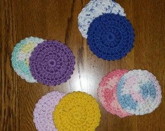 Cotton Facial Scrubbies (set of 8)