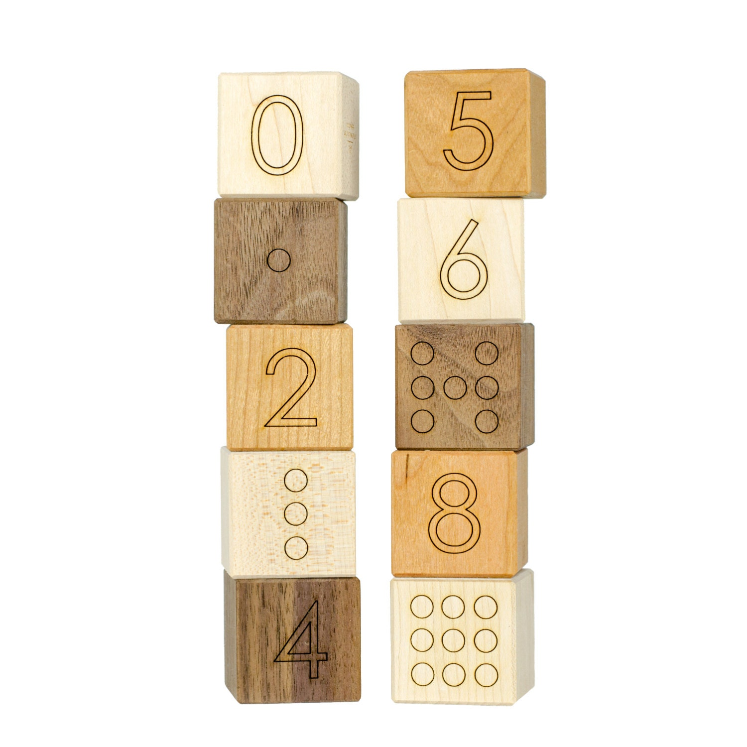 number blocks wood toy number toy wooden blocks baby. Black Bedroom Furniture Sets. Home Design Ideas