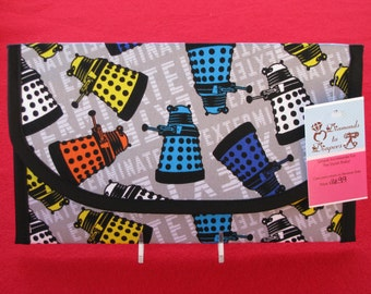 Doctor Who Daleks Diaper and Wipes Case Holder Clutch