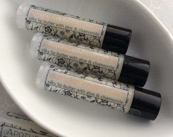 Pumpkin Cheesecake Natural Lip Balm