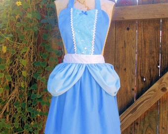 CINDERELLA APRON  Princess style  womens full Apron from Lover Dovers style CND200