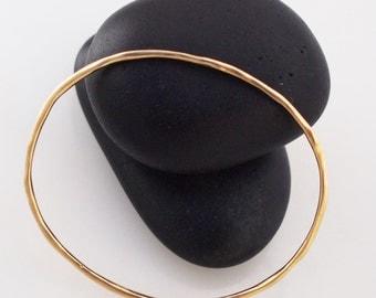 Bangle-Thick 14kt Gold Filled Bracelet.
