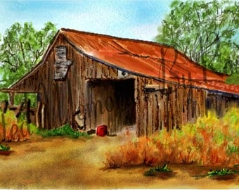 HOT SUMMER DAY Instant Download 10 7/8 x5 1/2