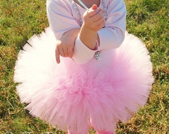 Pink Tutu, Blush Tutu, 1st Birthday Outfit Tutu, First Birthday Outfit Tutu, Newborn Tutu, 1st Birthday Tutu, First Birthday Tutu Skirt