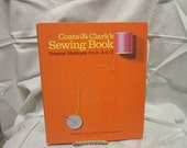 1967 Copy of Coats and Clark's Sewing Book - Newest Methods From A to Z