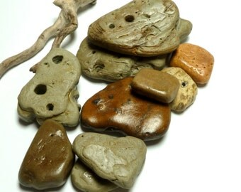 Beach Stone Slabs Tile Undrilled Pebble River Rocks Natural Surf Tumbled Stone Home Decor Decorative Spa Therapy Meditation