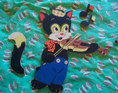 cat and the fiddle pinup